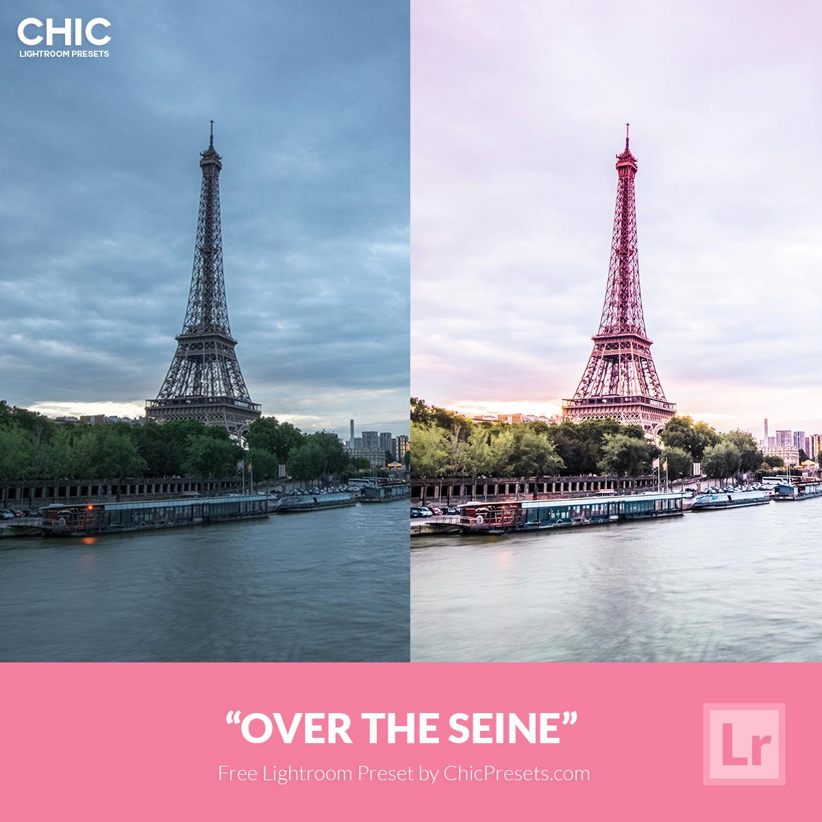 Free Chic Lightroom Preset Over The Seine