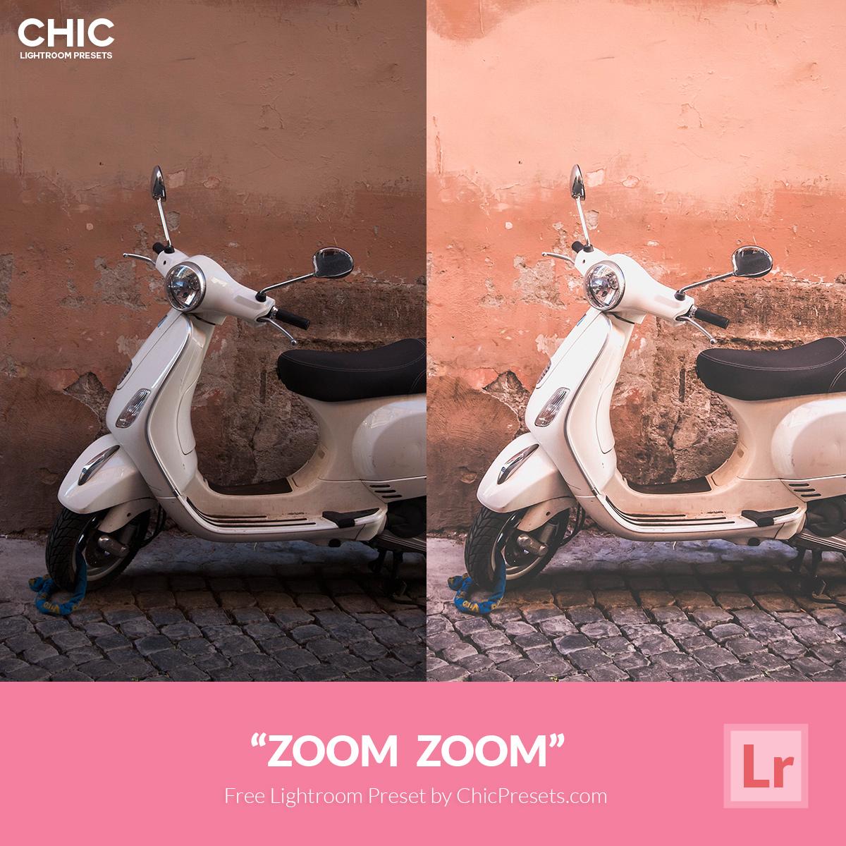 Free Lightroom Preset Zoom Zoom