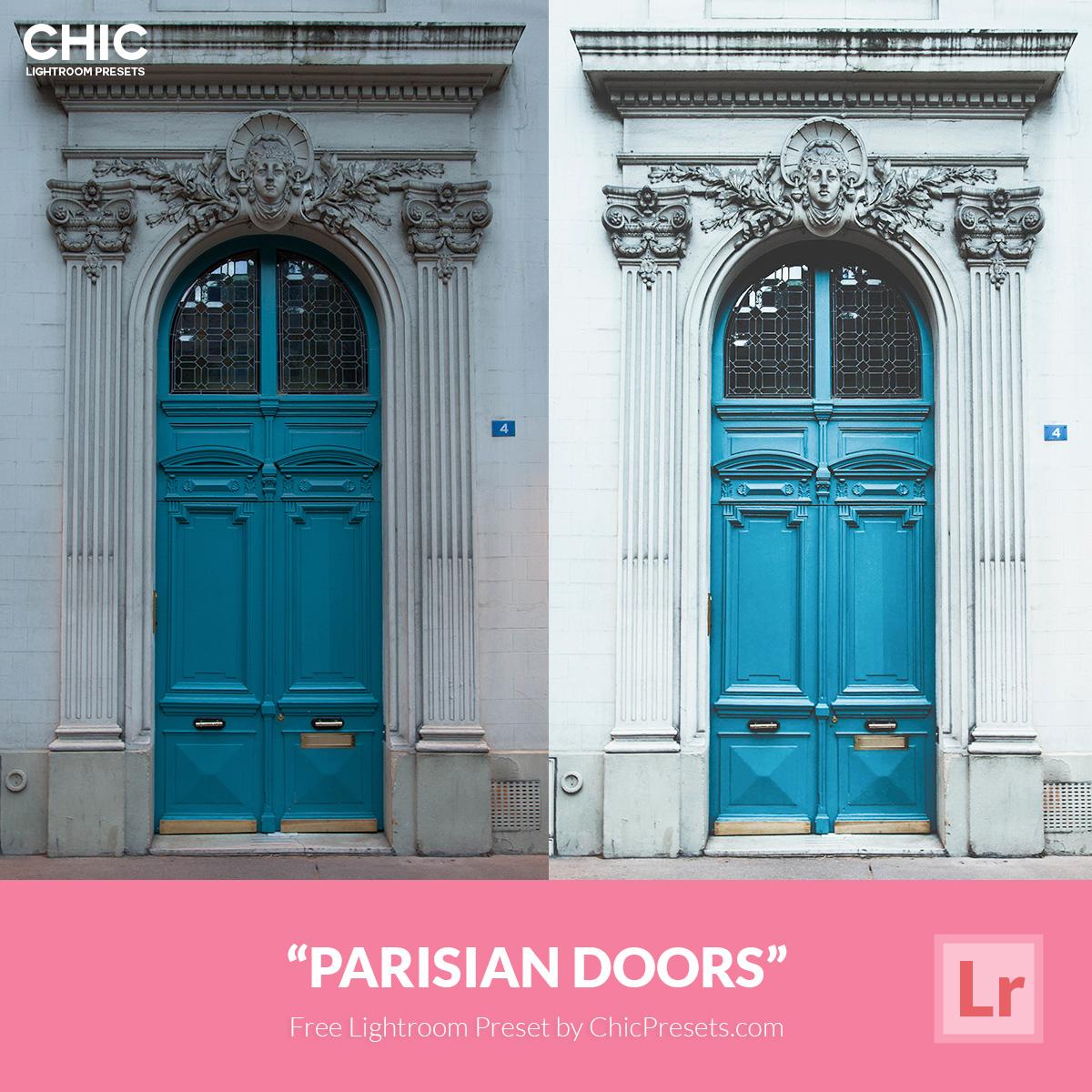 Free-Chic-Preset-Parisian-Doors