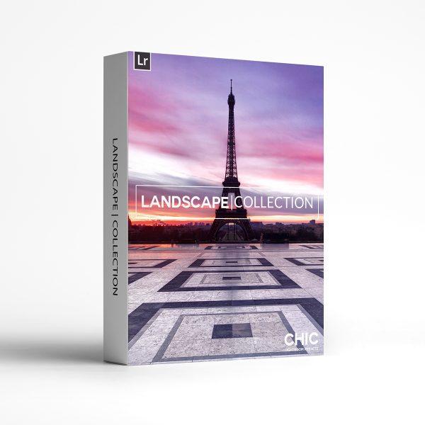 The Landscape Collection Chic Lightroom Presets