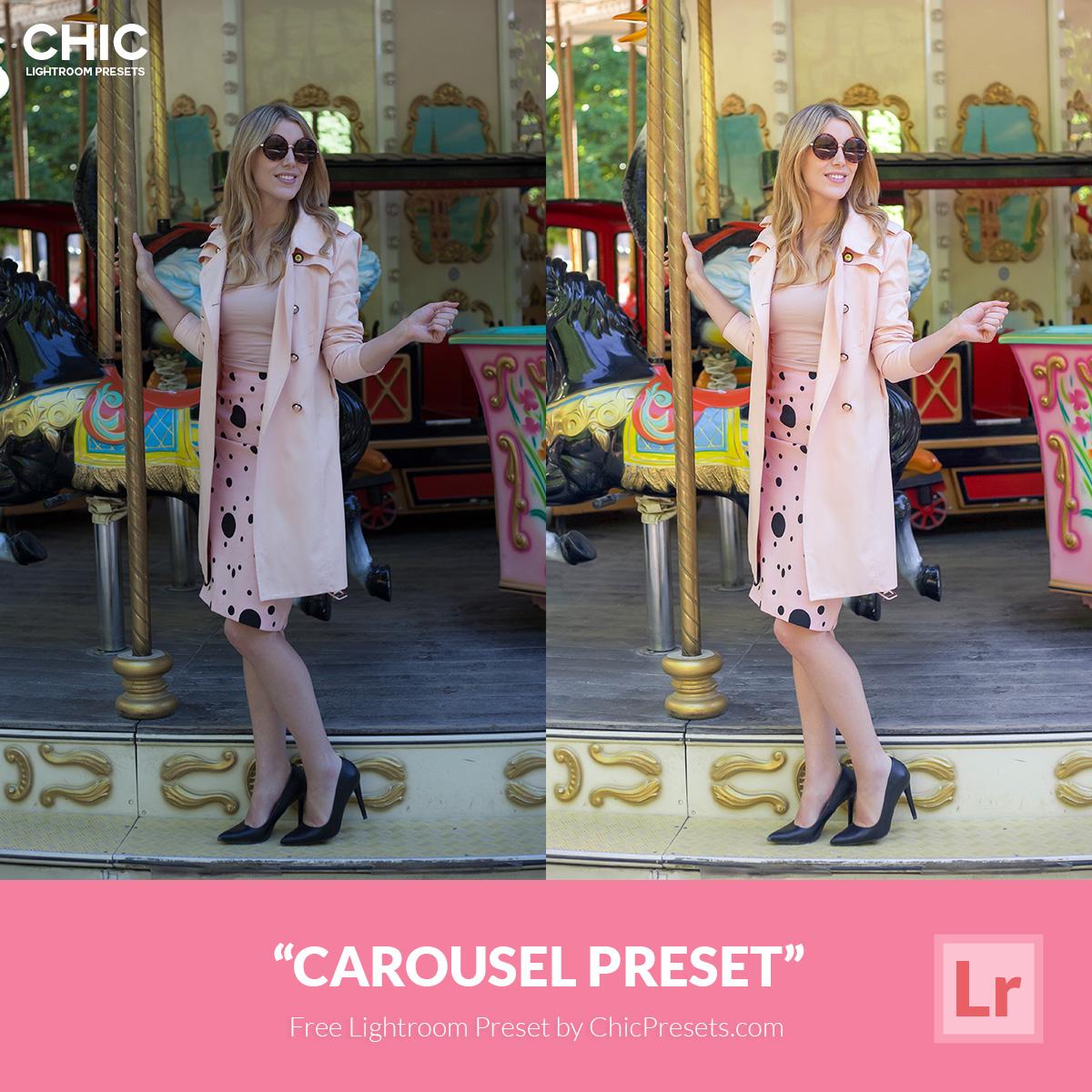 Free Lightroom Preset | Carousel