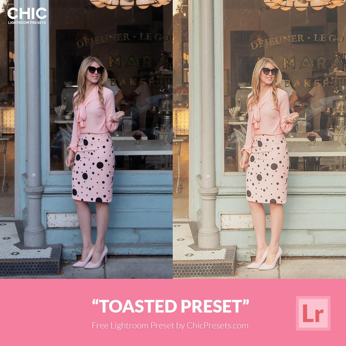 Free Lightroom Preset | Toasted