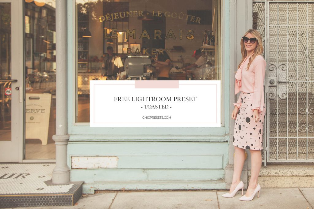Free Lightroom Preset | Toasted